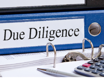 Due diligence of security portfolios